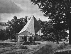 Village Church (1929-30) in Birken, Germany, by Dominikus Böhm