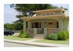 Bungalow with '41-Chevrolet by Michael Paul Smith, via Flickr