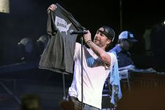 Dierks Bentley rocking the USA Home T at a concert! 10% of profits go to multiple sclerosis research. Show off your pride at www.thehomet.com!