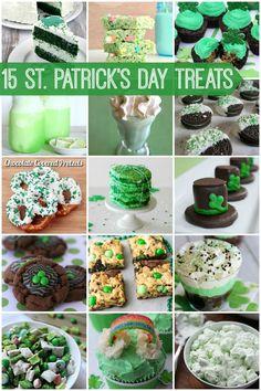 St Patricks Day Treats via Snap Creativity