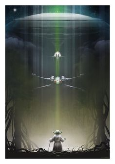 Bottleneck and Acme have combined to make an official set of Star Wars Trilogy posters by Andy Fairhurst. See the Andy Fairhurst Star Wars posters here Star Wars Poster, Star Wars Film, Nave Star Wars, Star Wars Art, Star Wars Characters, Star Wars Episodes, Millennium Falcon, Darth Vader, Star Wars Zeichnungen