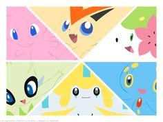 Cute Legendaries by MapleRose