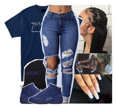 """"""";"""" by lamamig ❤ liked on Polyvore featuring Religion Clothing and NIKE"""