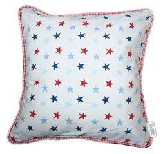 Star Scatter Cushion - made by Tula-tu Baby Linen