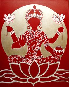 Lakshimi Hindu goddess of light, beauty, good fortune and wealth. Signifying loveliness and grace. I like it when one goddess can be just about everything....