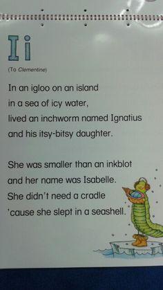 I Alliteration Poem