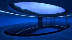 The pool at the Benesse Art Site Naoshima hotel, Naoshima-cho, Japan