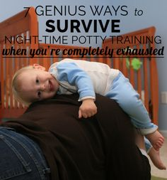 Expert tips on how to deal with bedwetting accidents during night time potty training.