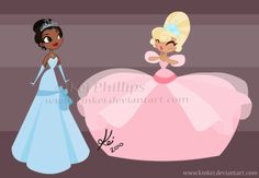 Princesas Disney em Vector Art
