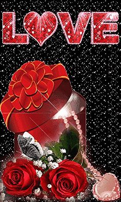 Love Heart Images, I Love You Images, Love You Gif, Beautiful Love Pictures, Cute Love Gif, Heart Pictures, Beautiful Gif, Good Morning Beautiful Flowers, Beautiful Rose Flowers