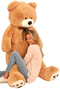 Großartig This Time A 5 Foot Stuffed Teddy Bear Plush Toy