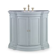 Ambella Home Collection - Conference Sink Chest - Grey - 02147-110-412