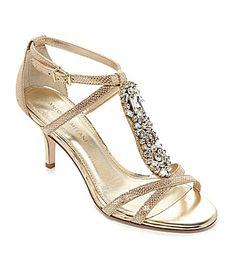 a12cb23623b Antonio Melani Tasha Jeweled Dress Sandals  Dillards I love these for  Bridesmaids!  98 at