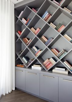 Office Detail  Jefferson Ave Residence  Home Office  Eclectic  Modern by Stephanie Brown Inc