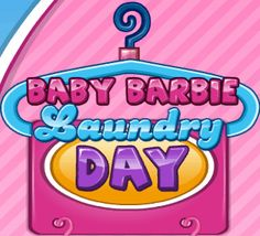Baby Barbie Laundry Day Baby Barbie, Burger King Logo, Laundry, Day, Laundry Room, Laundry Rooms