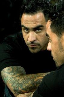 Chris Nunez.. my first job at a tattoo shop was w/ Nunez and he gave me my first tats.. coolest dude EVER!