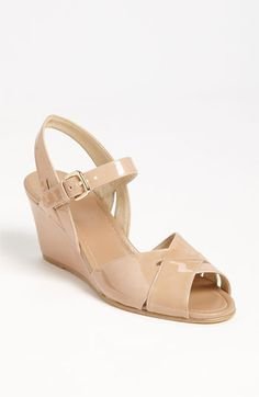 Low Heel Sandal: Stuart Weitzman 'Halley' Wedge