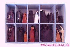 organizzare borse armadio - Cerca con Google