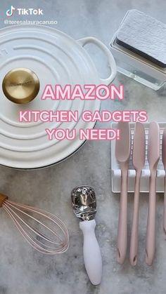 Amazon Hacks, Amazon Gadgets, Cool Gadgets To Buy, Cool Kitchen Gadgets, Cool Kitchens, Best Amazon Buys, Best Amazon Products, Home Organization Hacks, Kitchen Organization