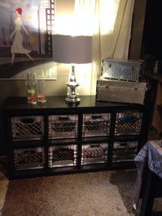 hocker aus bierk sten home m bel bierkasten und kisten. Black Bedroom Furniture Sets. Home Design Ideas