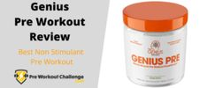 "If a jitter-free, non-stimulant pre workout that still packs energy sounds good to you, read more in this Genius Pre Workout Review. You'll discover that the brand name ""Genius"", really does represent their exercise supplement line very well. Muscle Building Supplements, Sounds Good, You Are Awesome, Very Well, Build Muscle, Free Food, Brand Names, How To Get, Exercise"