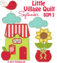 Little Village Quilt BOM 3
