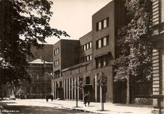 Young Men's Christian Association Poland YMCA in Lodz at 4a Miniuszki Street, Community Centre, 1932-35, project by Wiesław Lisowski