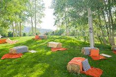 Extra Seating!  Country themed party idea <3 SwimZip Swimwear UV 50+