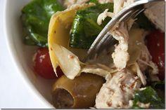 Mediterranean Chicken and Artichoke Salad - Andie Mitchell