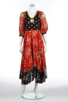 Thea Porter Gypsey Dress 1969 ~Love!