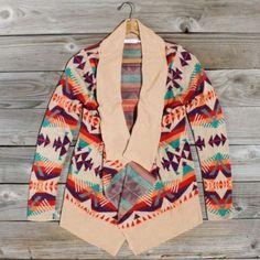 tribal- sweater