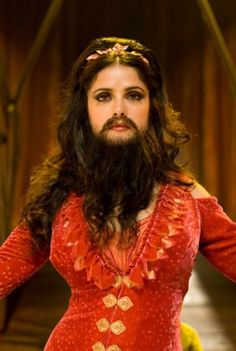 Bearded lady costume idea                                                                                                                                                     More