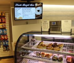 518 Market, Campus Center: Start your day by enjoying breakfast from #UAlbany's  Fresh Bagel Bar at the 518 Market! #Bagels #518 #Breakfast