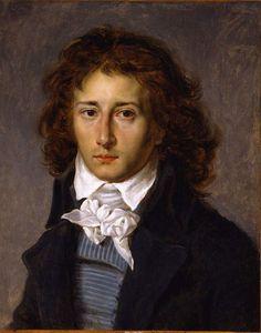 Antoine-Jean Gros -- Portrait de François Gérard - 1790