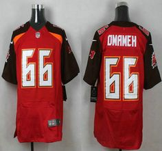 Tampa Bay Buccaneers Jersey 66 Patrick Omameh Red Team Color NFL Nike Elite… e69f04128