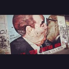 East Side Gallery, Berlin.