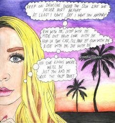 SIRENA MELROSE - SAD HOT SUMMER Run With Me, It Hurts, Sad, At Least, Fan Art, Dance, Comics, Summer, Painting