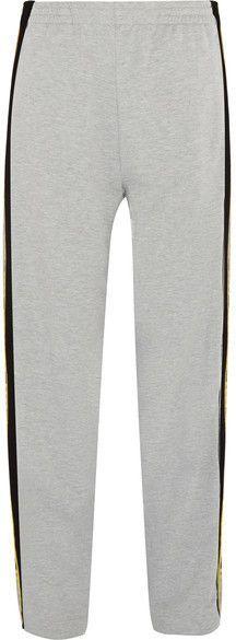 Koché - Striped Jersey Track Pants - Gray