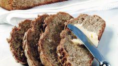 Juurileipä Scones, Banana Bread, Rolls, Desserts, Food, Breads, Bread Rolls, Meal, Deserts
