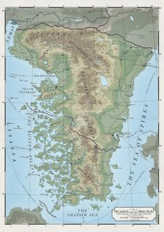 314 Best Fantasy Topographical Maps images in 2018 | Map