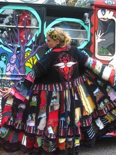 Upcycled Clothing by Katwise RESERVED by katwise on Etsy. $399.00 USD, via Etsy.