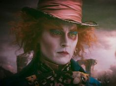 Johnny Depp as The Mad Hatter- Alice in Wonderland