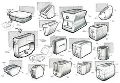 Sketches 2012 by Nicholas Baker, via Behance: