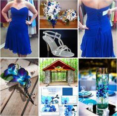 Blue orchids theme