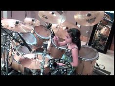 Pau 10 yrs Old - Kelly Clarkson - My Life Would Suck Without You (Drum Cover Inc Cobus crossover)