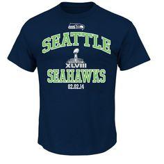 NFL Seattle Seahawks Men's Heart and Soul SB II Tee #gameday #seahawks #seattleseahawks #superbowl #superbowl2014