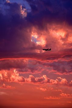 Fly high over the clouds