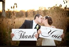 Items similar to Wedding Signs, Photo Prop Signs, Wedding Thank You Signs for your Thank You Cards. 8 X 16 inches, 2 signs, on Etsy Wedding Thank You, Farm Wedding, Wedding Pictures, Dream Wedding, Wedding Day, Wedding Stuff, Wedding Things, Wedding 2015, Wedding Decor