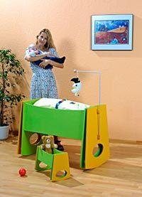 Babybett und Puppenwiege selber bauen- gratis Anleitung und Vorlagen › Heimwerker Tipps