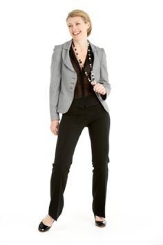 Smart Casual Dress Code: Woman Dressed in Smart Casual Attire for Work